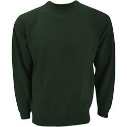 textil Sweatshirts Ultimate Clothing Collection UCC001 Flaskegrön