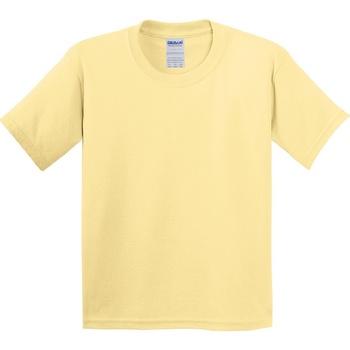 textil Barn T-shirts Gildan 5000B Gula gräsfärger