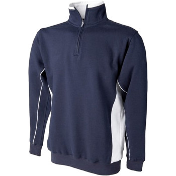 textil Herr Sweatshirts Finden & Hales LV338 Marinblått/vit
