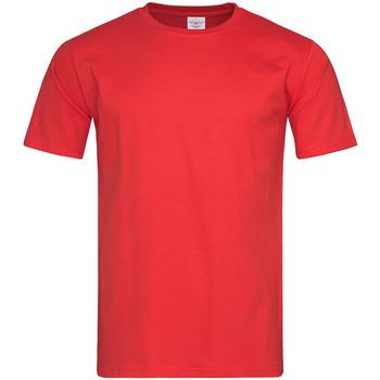 textil Herr T-shirts Stedman  Skarlakansröd
