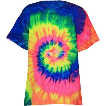 textil Barn T-shirts Colortone TD02B Neon regnbåge