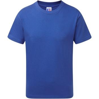 textil Pojkar T-shirts Jerzees Schoolgear J155B Ljusa kungliga