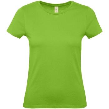 textil Dam T-shirts B And C E150 Orkidégrön