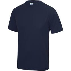 textil Barn T-shirts Awdis JC01J Oxford Navy