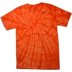 textil Herr T-shirts Colortone Tonal Spindel orange