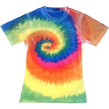 textil Dam T-shirts Colortone TD21M Regnbåge