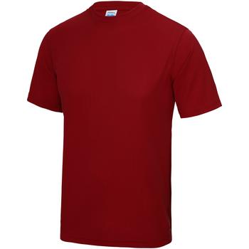 textil Barn T-shirts Awdis JC01J Eldröd