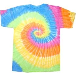 textil Dam T-shirts Colortone Rainbow Evighet