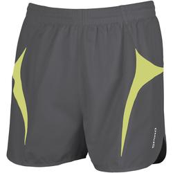 textil Herr Shorts / Bermudas Spiro S183X Grå/Lime