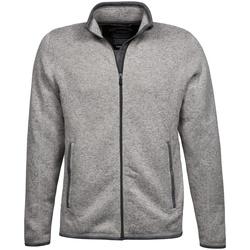 textil Herr Koftor / Cardigans / Västar Tee Jays TJ9615 Grå melange