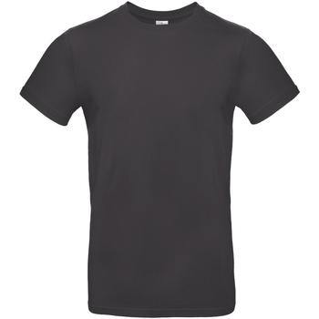 textil Herr T-shirts B And C TU03T Används svart
