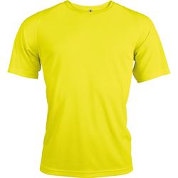 textil Herr T-shirts Kariban Proact PA438 Fluorescerande gult