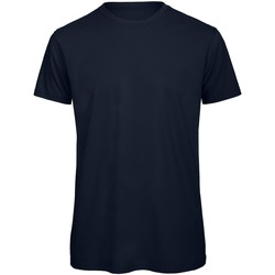 textil Herr T-shirts B And C TM042 Marinblått