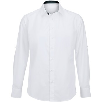 textil Herr Långärmade skjortor Alexandra Hospitality Vit/ svart