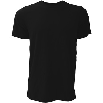 textil Herr T-shirts Bella + Canvas CA3001 Svart