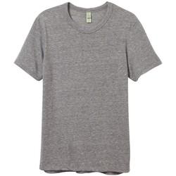 textil Herr T-shirts Alternative Apparel AT001 Eco Grey