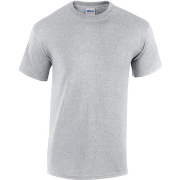 textil Herr T-shirts Gildan Heavy Sport Grå