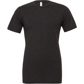 textil Herr T-shirts Bella + Canvas CA3413 Charcoal Black Triblend