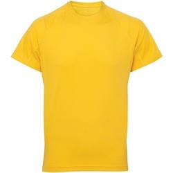 textil Herr T-shirts Tridri TR011 Solgult