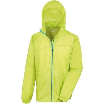 textil Vår/höstjackor Result Hydradri Lime / Royal