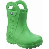 Skor Barn Gummistövlar Crocs  Gräs grönt