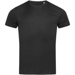 textil Herr T-shirts Stedman  Svart opal