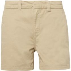 textil Dam Shorts / Bermudas Asquith & Fox AQ061 Khaki