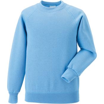 textil Barn Sweatshirts Jerzees Schoolgear 7620B Himmelblått