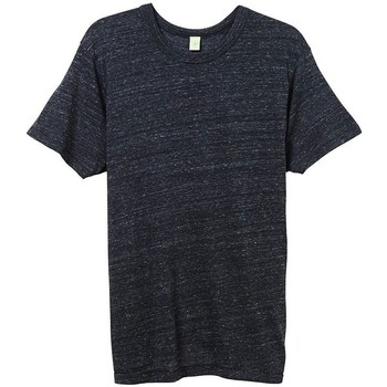 textil Herr T-shirts Alternative Apparel AT001 Eco Black