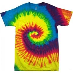 textil Dam T-shirts Colortone Rainbow Regnbåge