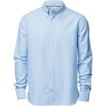 textil Herr Långärmade skjortor Nimbus NB45M Ljusblå