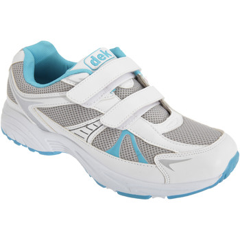 Skor Dam Sneakers Dek  Vit/blå