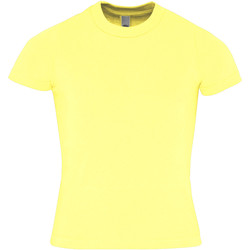 textil Barn T-shirts American Apparel AA057 Citron