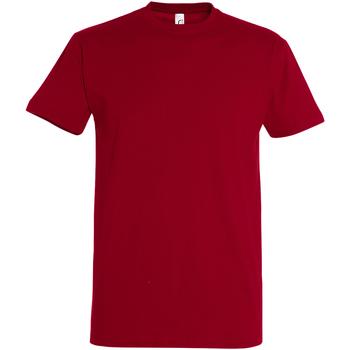 textil Herr T-shirts Sols 11500 Tango röd