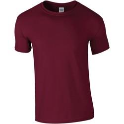 textil Herr T-shirts Gildan GD01 Maroon