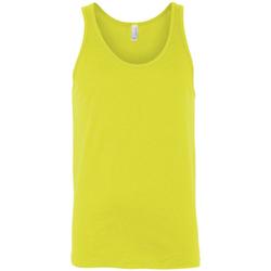 textil Dam Linnen / Ärmlösa T-shirts Bella + Canvas CA3480 Neon gul