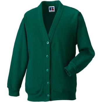 textil Barn Koftor / Cardigans / Västar Jerzees Schoolgear 273B Flaskegrön
