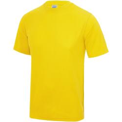 textil Barn T-shirts Awdis JC01J Solgult