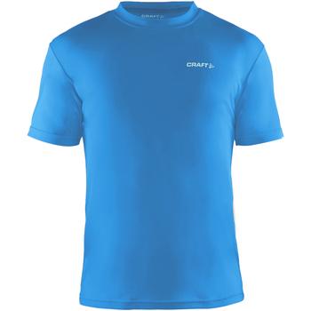 textil Herr T-shirts Craft CT086 Svensk blå