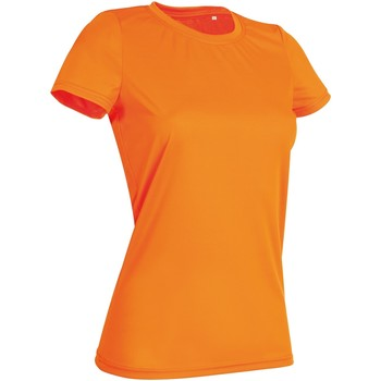 textil Dam T-shirts Stedman  Cyber Orange