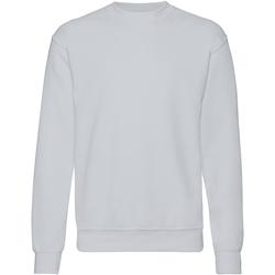 textil Herr Sweatshirts Fruit Of The Loom 62202 Grått
