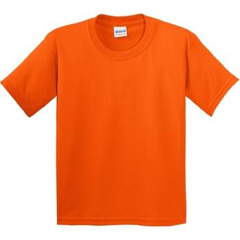 textil Barn T-shirts Gildan 5000B Orange