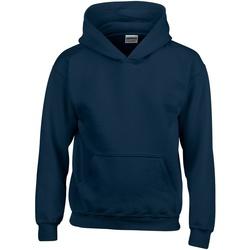 textil Barn Sweatshirts Gildan 18500B Marinblått