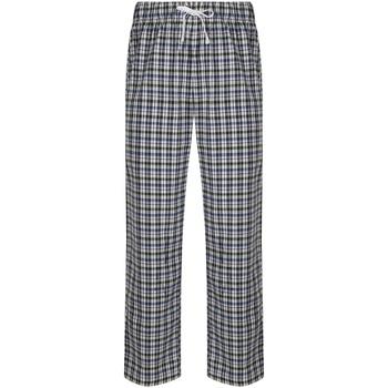 textil Herr Pyjamas/nattlinne Skinni Fit SFM83 Vit/Multi Check