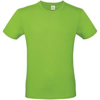 textil Herr T-shirts B And C TU01T Orkidégrön