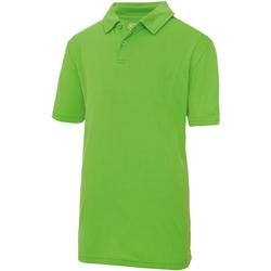 textil Barn Kortärmade pikétröjor Just Cool  Lime
