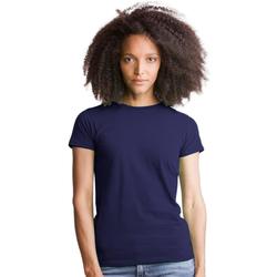 textil Dam T-shirts & Pikétröjor Mantis M69 Mörkblått