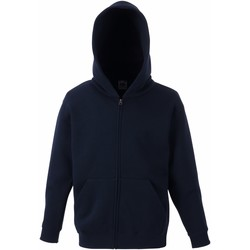 textil Barn Sweatshirts Fruit Of The Loom SS825 Djupt marinblått
