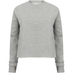 textil Dam Sweatshirts Skinni Fit SK515 Grått
