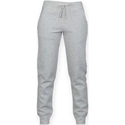 textil Barn Joggingbyxor Skinni Fit  Grått